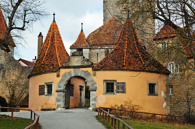 شهر Rothenburg ob der Tauber