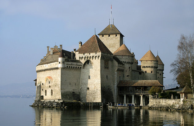 قلعه Chateau de Chillon در مونترو
